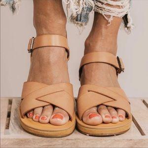KORK EASE #29 Myrna 10 wedge tan